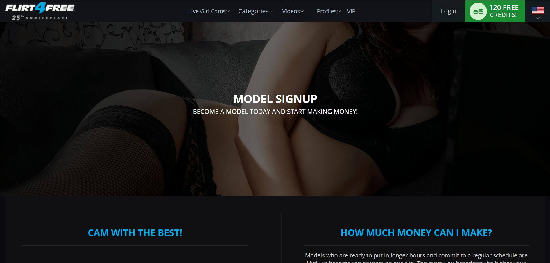 Вебкам сайт Flirt4Free